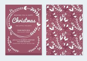 Cartão de Natal Vector