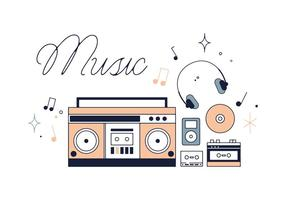 Vector de música grátis
