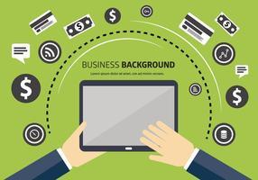 Free Backgorund de vetor de negócios com tipografia