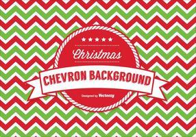 Natal padrão de Chevron vetor