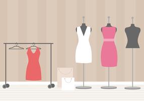 Vestido de sala de vestir grátis