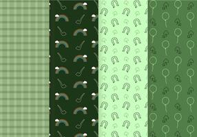 Vector padrão do padrão de St. Patrick