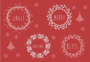 Ilustração de fundo de Natal grátis vetor