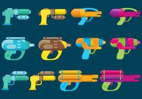 Armas de água vetor