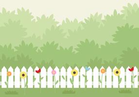 Vector jardim gratuito