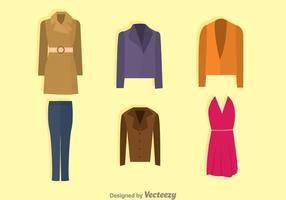 Coleção de moda vetor