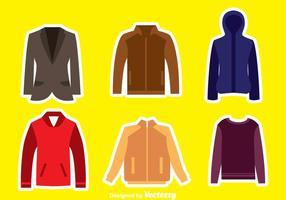 Coleção Jacket vetor