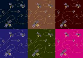 Textura Firefly vetor