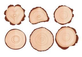 Vetores de anel de árvore