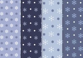 Vetor de padrão de floco de neve livre