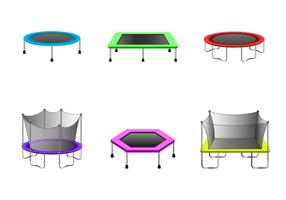 Vector de trampolim grátis
