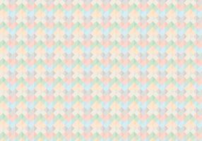 Resumo Padrão de Argyle quadrado colorido vetor