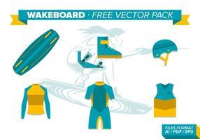 Pacote de vetores grátis Wakeboard