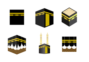 Vector livre de Makkah