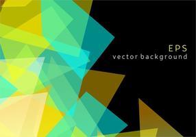 Fundo geométrico do vetor Prizma