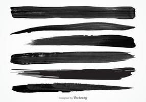 Conjunto livre de vetores de raios de tinta