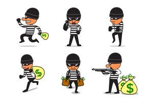 Vetor ladrão grátis