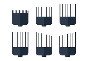 Lâmina de cortar cabelo vetor