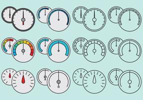 Tacômetros de linha vetor