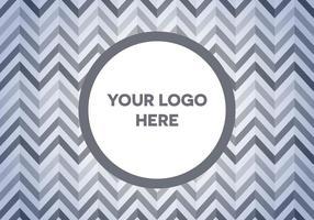 Fundo livre do logotipo de Herringbone vetor
