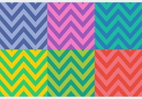 Padrões coloridos de espinha de peixe colorido vetor