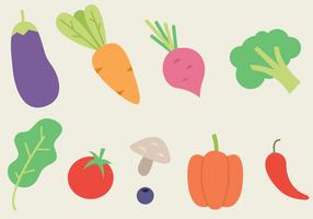 Vector de legumes grátis