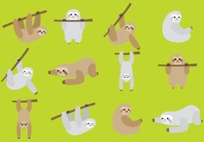 Preguiças de desenhos animados