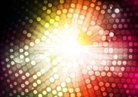 Livre Vector de iluminação abstrata