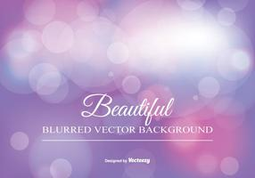 Beautiful Blurred Bokeh Background vetor