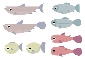 Vetor de peixe grátis