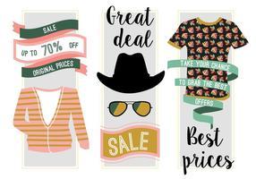 Fundo gratuito de vetores da venda de moda