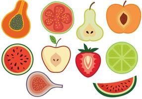 Vetores de frutas livres