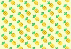 Padrão de ananas de abacaxi sem costura vetor