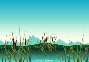 Ilustração livre do vetor do pântano