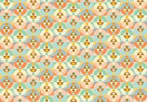 Fundo abstrato do padrão de forma geométrica