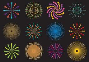 Firecrakers E Vetores Fireworks