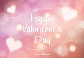 Ilustração de fundo abstrata de Valentine vetor
