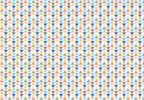 Vector de padrões triangulares geométricos