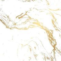 fundo de textura de mármore em ouro e branco vetor