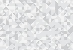 fundo abstrato triângulo cinza mosaico vetor