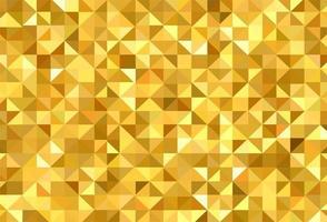 padrão geométrico abstrato triângulo dourado vetor