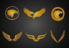 Vetor Golden Eagle grátis