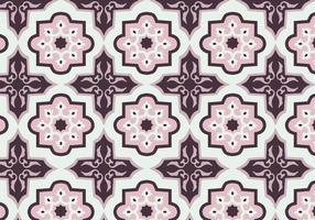 Vetor de padrões Batik