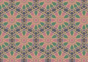 Vector de padrão de mosaico