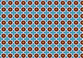 Vetor de padrão de mosaico abstrato