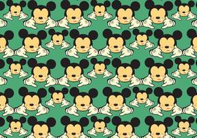 Livre Mickey Shaka Pattern Vector