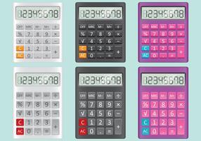 Vetores da calculadora