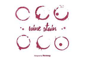 Vinho Stain Vector