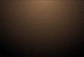 textura de fibra de carbono de bronze vetor