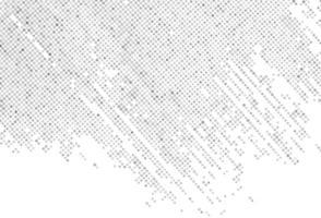 padrão de pincelada pontilhada cinza abstrata vetor